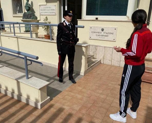 Carabinieri impegnati al contrasto del Covid19