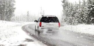 neve, strade