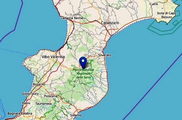 terremoto a Vibo Valentia