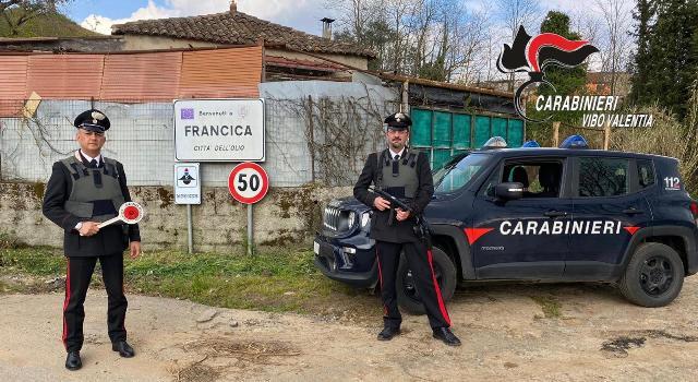 Carabinieri Vibo Francica