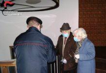 Carabinieri consegnano pensioni
