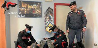 Cetraro (CS). Arresti detenzione stupefacente 28.04.2020