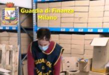 Guardia di Finanza sequestro prodotti detenuti illegalmente