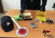 spaccio a Vallefiorita arrestata una donna