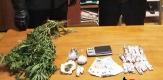 Droga, due denunciati dai carabinieri di Marcellinara
