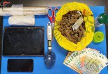 Arresto per droga nel reggino