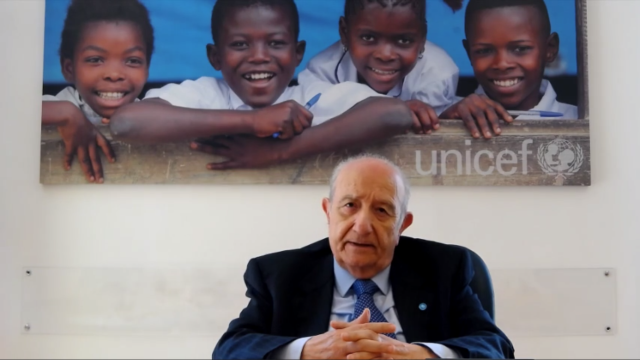 Samengo presidente Unicef Italia