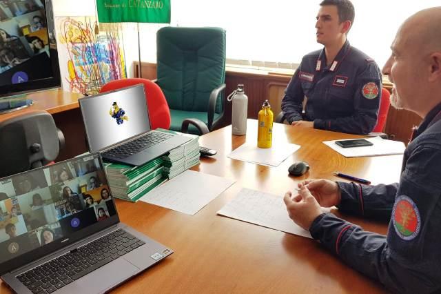carabinieri, educazione ambientale, incontri web