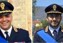dott. Antonio Caliò e il dott. Salvatore Costantino Belvedere (Questura di Catanzaro)