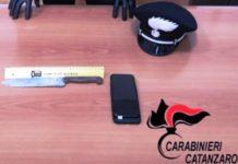 rapina nel centro storico a CATANZARO