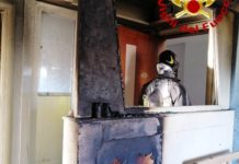 Espode congelatore in un'abitazione privata, nessun ferito