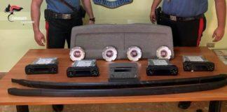 Scilla, arresto per furto, Carabinieri Reggio Calabria