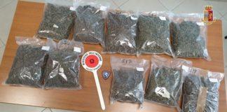 Lamezia Terme, sequestro droga Polizia Catanzaro