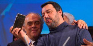 Salvatore Gaetano e Matteo Salvini