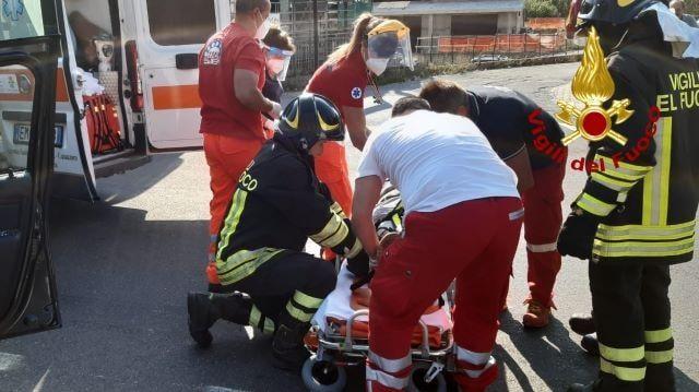 incidente stradale a Davoli Marina (CZ)