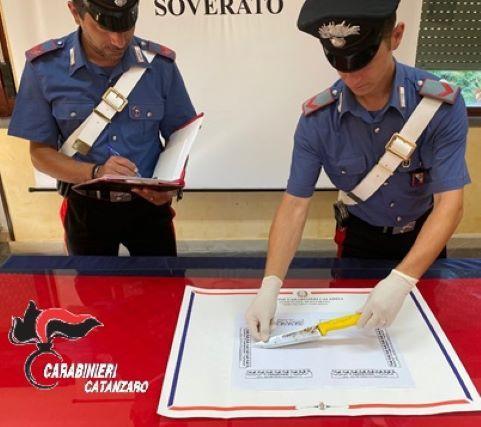 Tentata estorsione Carabinieri Catanzaro