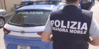 Catanzaro Polizia squadra mobile