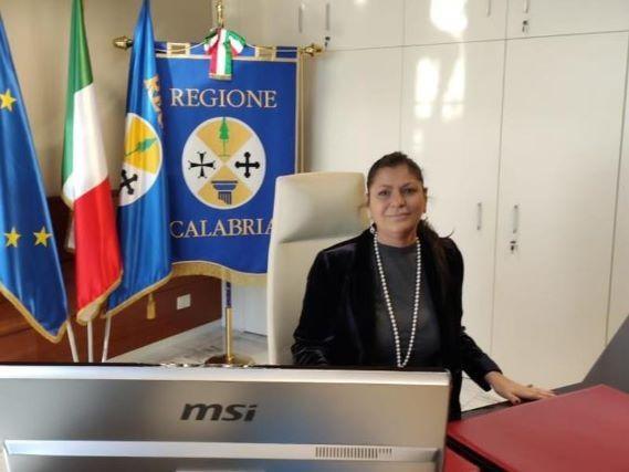 Jole Santelli Presidente Regione Calabria