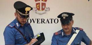 Materiale sequestrato Carabinieri Catanzaro