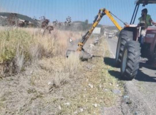 Pisano - partiti lavori su strade provinciali