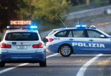 Polizia Stradale, incidente