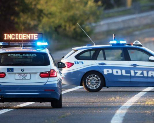 Polizia Stradale, incidente