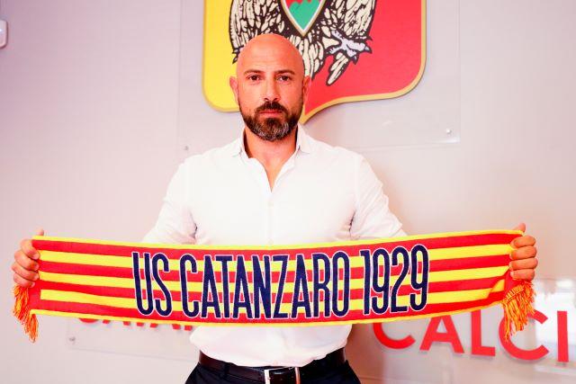 Calabro nuovo allenatore Catanzaro