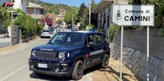 Carabinieri Comnue di Camini (RC)