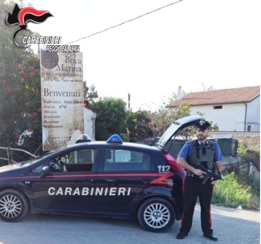 Carabinieri Reggio Calabria Bova Marina