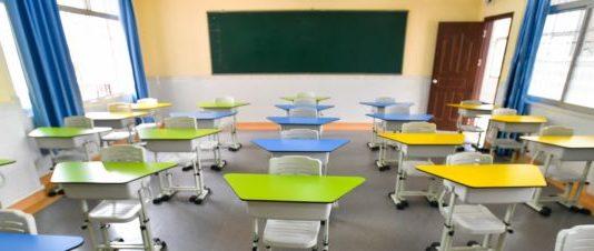 Istruzione, scuola, banchi monoposto, norme anti-covid