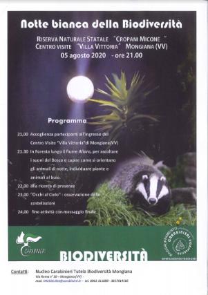Notte Bianca Biodiversità