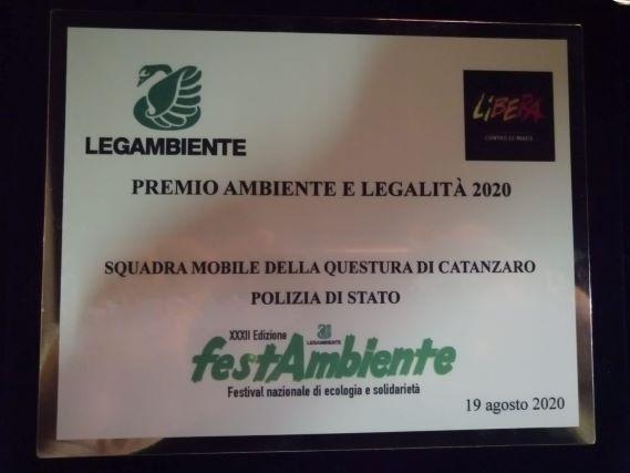 Premio Legambiente 2020