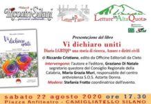 """Presentazione libro """"Vi dichiaro Uniti"""" Riccardo Cristiano Incontri Silani a Camigliatello (CS)"""
