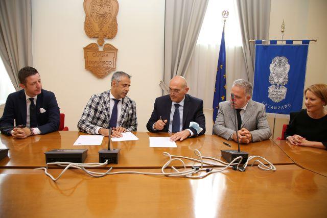 Tutela Ambiente siglato accordo con la Camera di Commercio di Catanzaro