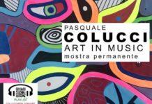 """Colucci """"Art in Music"""" Mostra Mudam, Oriolo"""