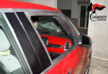 daneggiamento auto Aprigliano