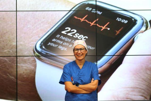 smartwatch, Carmen Spaccarotella