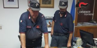 Caccia, controlli nel Lametino dei Carabinieri Forestali