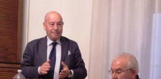 Coldiretti Calabria, ANBI Calabria, da sx il neo presidente Leonetti e Blaiotta