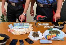 Cropani, droga, Carabinieri Catanzaro