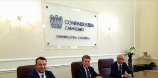 Foto incontro Unindustria Calabria-Sorical