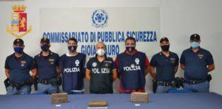 Gioia Tauro (RC) arresto della Polizia di Stato per droga