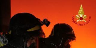 Incendio Vigili del Fuoco Reggio Calabria