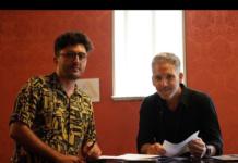 Mario Vitale e Beppe Fiorello (foto del profilo Instagram di Mario Vitale)