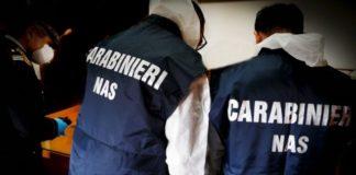Nas Carabinieri Reggio Calabria