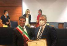 Prof Raffaerle Bruno cittadinanza onoraProf Raffaerle Bruno cittadinanza onoraria Mendicinoria Mendicino