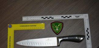Questura Reggio Calabria, coltello