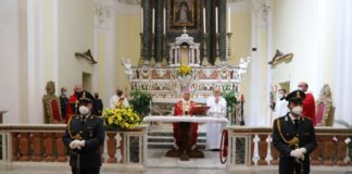 San Matteo apostolo ed evangelista, celebrato a Catanzaro il patrono della Guardia di Finanza