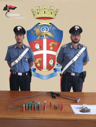 armi e munizioni, Carabinieri Reggio Calabria