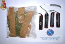arresto per droga, Polizia Serra San Bruno